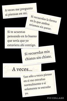 Acexes me pregunto Amor Quotes, Sad Quotes, Love Quotes, Sad Love, Love You, Frases Love, Quotes En Espanol, Love Messages, Spanish Quotes