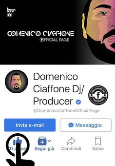 🗣 We are about to get to 10.000 people on my #OfficialArtistPage © 🎧 Thank you very much...‼🙏🏻❤️🙏🏻 FOLLOW ME ON FACEBOOK: ⤵ https://www.facebook.com/DomenicoCiaffoneOfficialPage/  ☑ MusicOn | It's all about the music 📢 © #DomenicoCiaffone™® - #OfficialPage