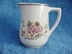 Vintage Mayer China Floral Restaurant Ware Milk Cream or Syrup Pitcher   eBay