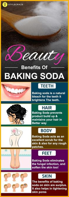 Are you aware of the beauty benefits of Baking Soda? If your answer is no, then you are the right place! This post let's you know the amazing beauty benefits associated