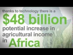 A great video on the global agricultural revolution, with many African examples…