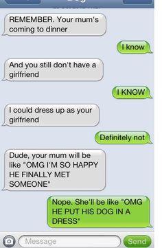 Dog Text -Girlfriend
