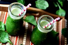 Pineapple Spinach Banana Smoothie