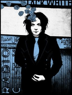 Jack White (NYC, Radio City Music Hall, 2nd Night) | Animal Rummy ( the white stripes / concert poster / rock poster / gig poster / indie )