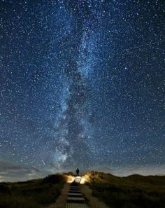 the road to heaven - Ireland. Once every two years the stars align with the road.