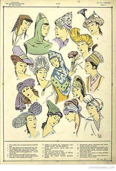 The Sumptuous Persian Costumes; Shahre Farang