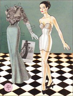 Vogue 1947 paper dolls by Jim Howard