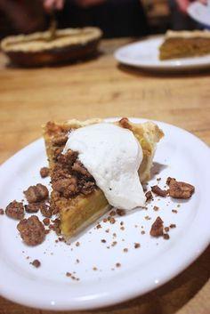 Vegan Pumpkin Pie, with Tofu Frosting