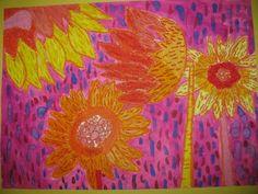 Colorful art: 5th grade!