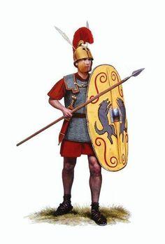 Roman triarius legionary, 3rd to 2nd century B.C.
