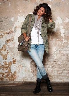 #army style #jacket #bonprix
