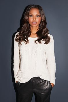 Jasmine Tookes interview and beauty tips  She is incredibly beautiful.