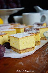 Słodkie Niebo: Sernik wiedeński Cheesecake, Food, Cheesecake Cake, Cheesecakes, Essen, Cheesecake Bars, Yemek, Meals