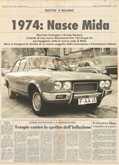 1974: la nascita di Mida, con Maurizio Castagna e Grazia Pastore