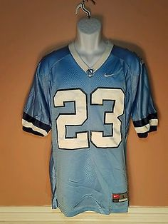 e69d24cf051 Rare Vintage Nike Team North Carolina Tarheels Football 23 Jersey Jordan  Sewn