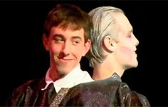"""Voldemort and Quirrell are the best couple. 19 Reasons Why """"A Very Potter Musical"""" Is Timeless Harry Potter Musical, Harry Potter 2, Hermione Granger, Draco Malfoy, Lauren Lopez, No Muggles, Spiderman 3, Avpm, Team Starkid"""