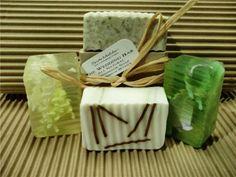 Homemade Soap as wedding favors... I like it...