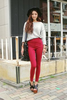 south korean street fashion - Shop with NAUGHTYFOX