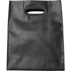Monki Arja Bag (€30) ❤ liked on Polyvore featuring bags, handbags, fillers, accessories, black, purses, black magic, vegan handbags, vegan purses and shopper handbag