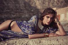 elisa sednaoui photo shoot 2014 1 Elisa Sednaoui Poses for The Edit, Talks the Future of Egypt