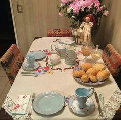 Um delicioso café da manhã!