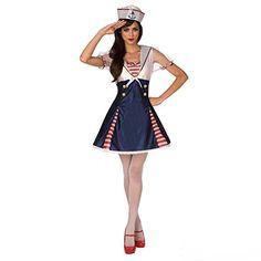 sexy uniform at DuckDuckGo Fall Halloween, Halloween Costumes, Adult Halloween, Sailor Fancy Dress, Sailor Costumes, Navy Uniforms, Cosplay, Dance Dresses, Branded T Shirts