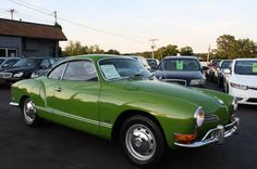 1971 Volkswagen Karmann Ghia Green   Buy Classic Volks