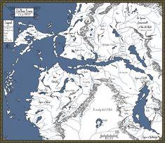 Looking for map inspiration . Llie'Nova Erania original size by Darkaiz Dream Fantasy, Fantasy Life, Fantasy Castle, Fantasy Rpg, Medieval Fantasy, Fantasy Map Making, Fantasy World Map, Imaginary Maps, Rpg Map