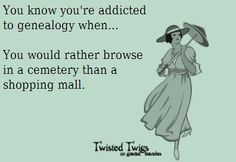 Addicted to Genealogy