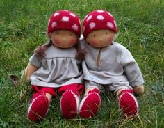adorable waldorf dolls made in Austria
