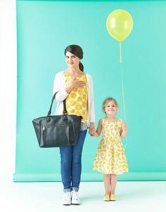 Lily Tote Diaper Bag