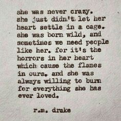 So me...the gypsy soul