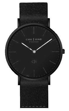 Caixa preta, mostrador preto, pulseira preta e ponteiro preto. Veja uma seleção de relógios todo pretos para comprar a partir de R$ 105 até R$ 2389.