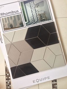 Just Arrived!!! #anticatile #terraverre #essentialsofdesign #rhombus #porcelain…