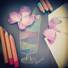 """#draw #drawing #art #coloredpencil #flowers #rainbow #instaart #instagood #creative #creativeart #art_empire #artcomplexcritique"""