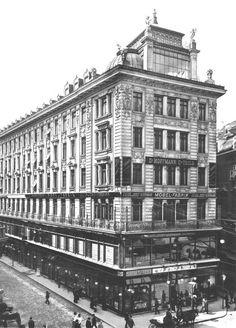 Vienna Graben Otto Wagner