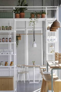 Interior Design For Living Room Diy Interior Doors, Bar Interior Design, Cafe Design, Interior Shop, Cafe Restaurant, Restaurant Design, Modern Restaurant, Cafe Bar, Restaurants