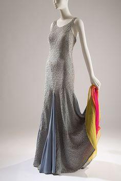 Elsa Schiaparelli dress, early 1930s. Courtesy of the Beverley Birks Collection #dancefashion