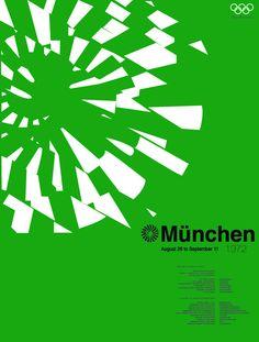 Munchen 1972 by Soo Oh, via Behance