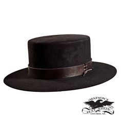 2063f527da504 We created this hat to have a top hat crown but to be a cowboy hat style.  This was a style of hat worn in the by cowboys.