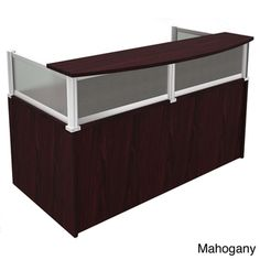 Boss Plexiglass Reception Desk | Overstock™ Shopping - The Best Prices on Boss Reception Desks