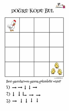 Fun Worksheets For Kids, Math For Kids, Preschool Printables, Preschool Worksheets, Computer Coding For Kids, Brain Gym Exercises, Activities For 5 Year Olds, Basic Programming, Computational Thinking