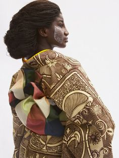 praisehouse:  WAfrica Afro Kimono by Serge Mouvangue, an interior and industrial designer from Cameroon