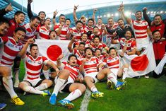 Japan will go down in Rugby World Cup history after that victory over South Africa