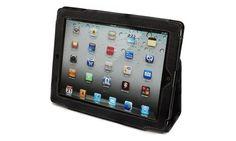 Snugg iPad 2 Case, iPad 2 Tasche, iPad 2 Cover / Hülle mit Aufsteller, elastischer Handschlaufe, verstaubarer Stylus-Halterung und Premium Nubuck Innenfutter für das Apple iPad 2 (iPad 2 Zubehör), schwarz – iPad-Hülle unterstützt Smart Cover Funktion