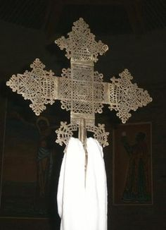 Ethiopia - The  beautiful Ethiopian Coptic Cross