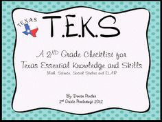 2nd Grade Ponderings: TEKS vs. Common Core