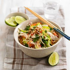 Love Thai food? Then this salad recipe is for you -Thai Chicken Salad from Woman and Home