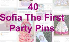 40 Sofia The First Party Ideas
