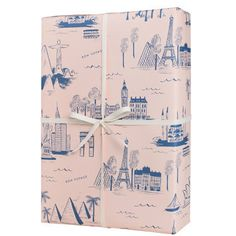 Rifle Paper City Toile Wrapping Sheets